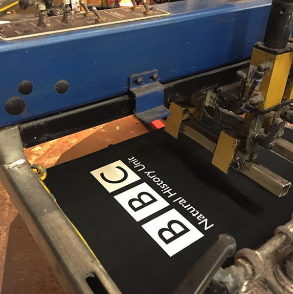 printed t-shirts for the BBC
